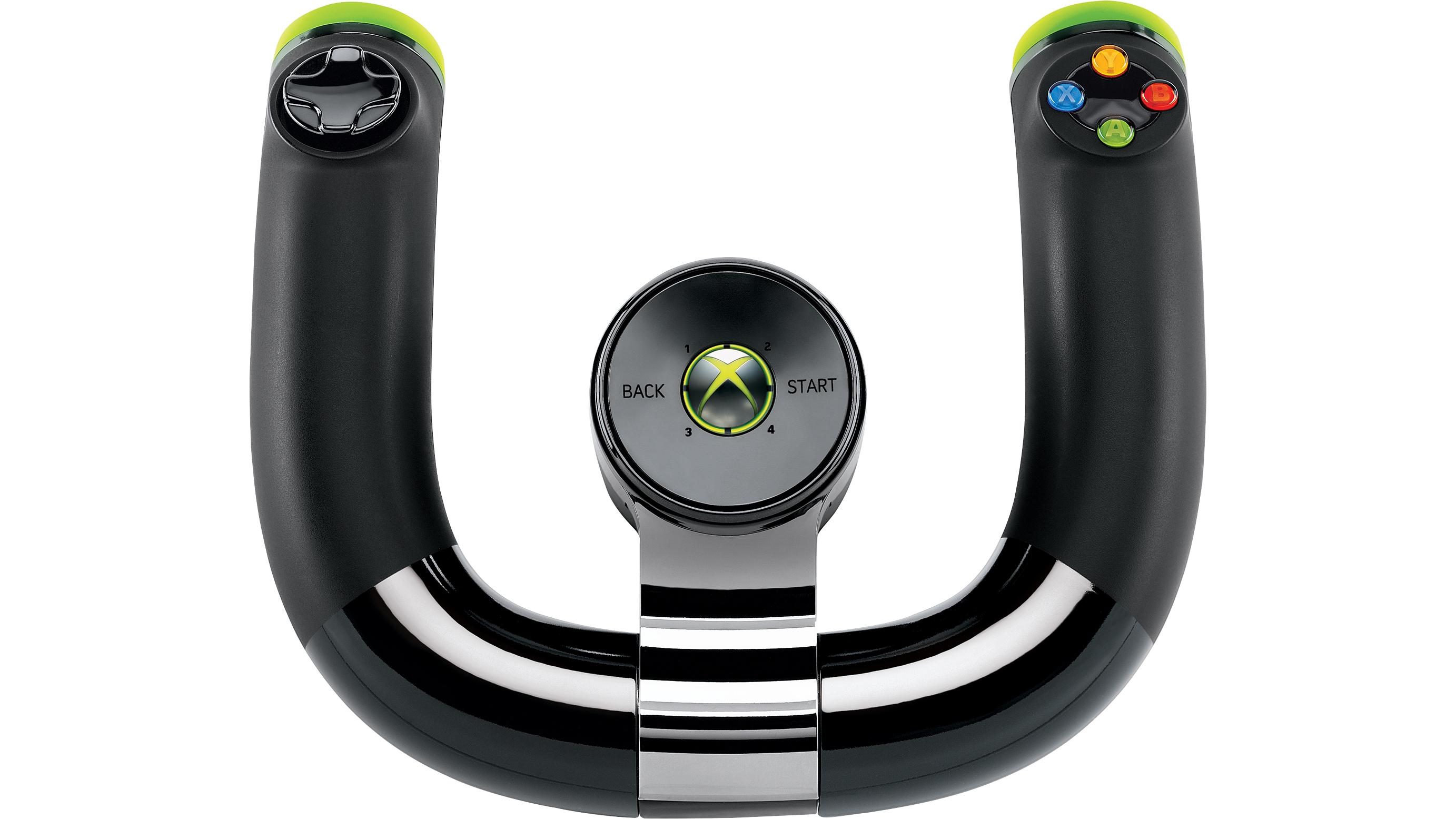 microsoft xbox 360 wireless racing wheel software