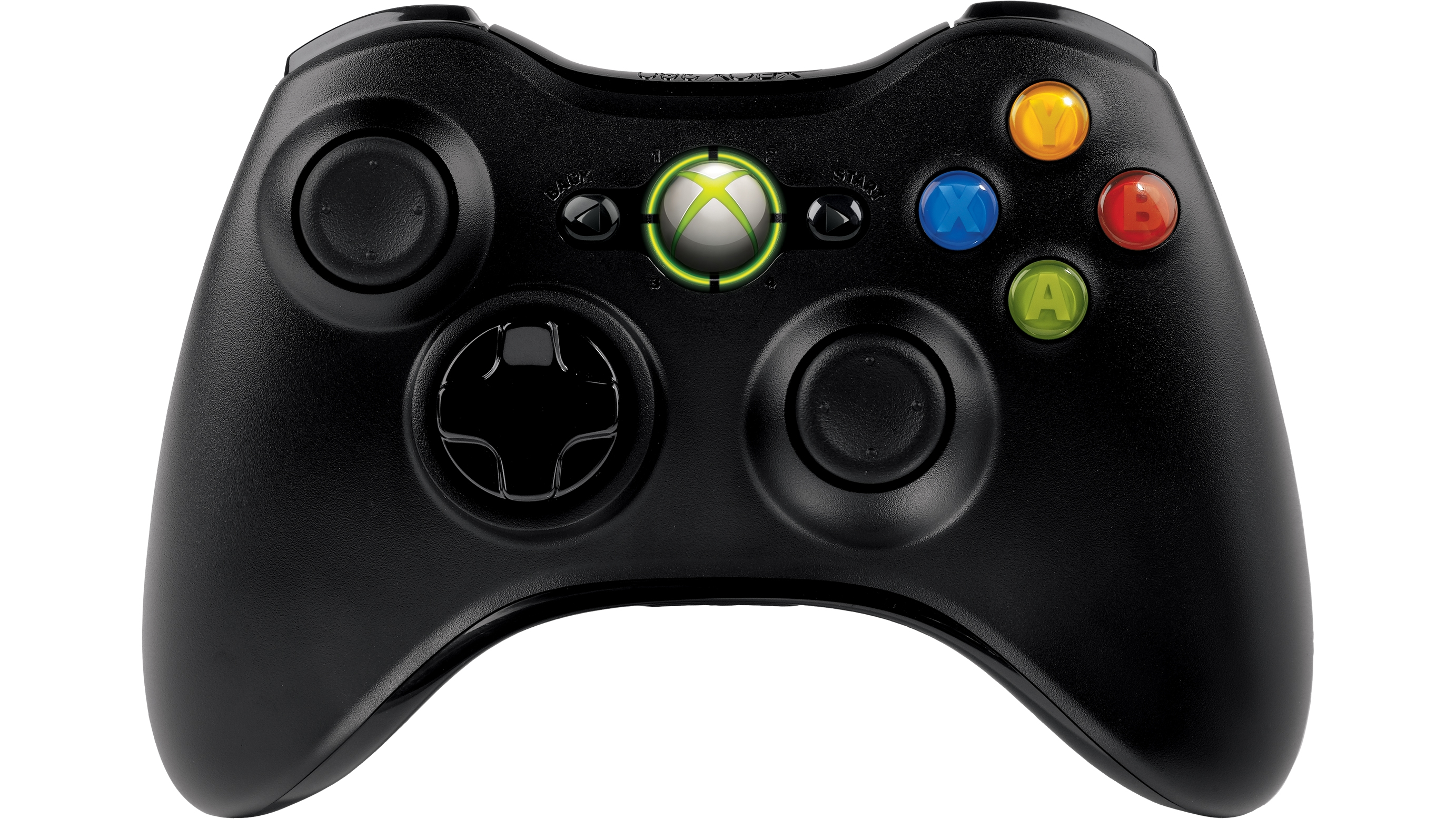 Xbox 360 Wireless Controller (Black)