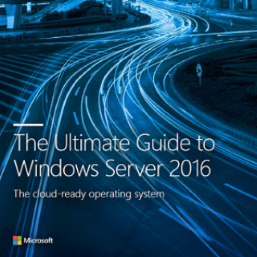 The Ultimate Guide to Windows Server 2016, the cloud-ready operating system.