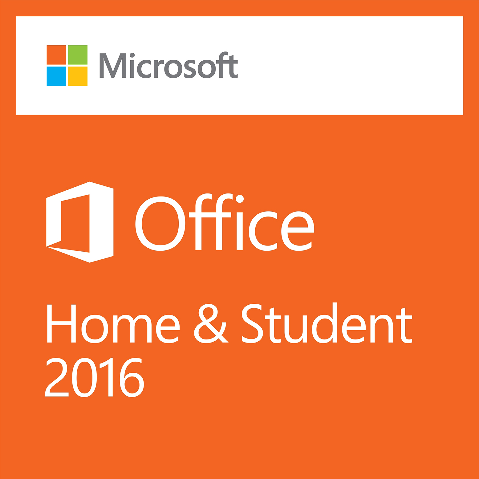 Office Home & Student 2016 - Box shot