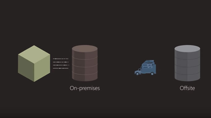Captura de tela de vídeo sobre o Stretch Database.
