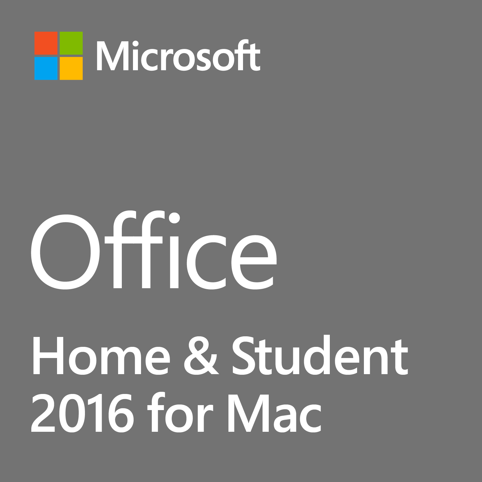 Office Home and Student 2016 for Mac