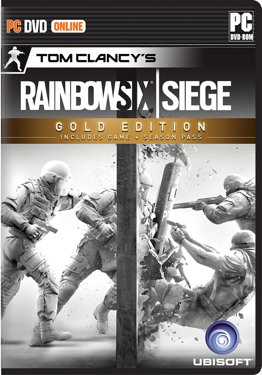 Tom Clancy's Rainbow Six Siege Gold Edition PC Game