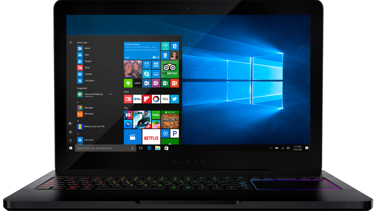 buy razer blade pro 17 3 4k uhd touchscreen gaming laptop microsoft store. Black Bedroom Furniture Sets. Home Design Ideas