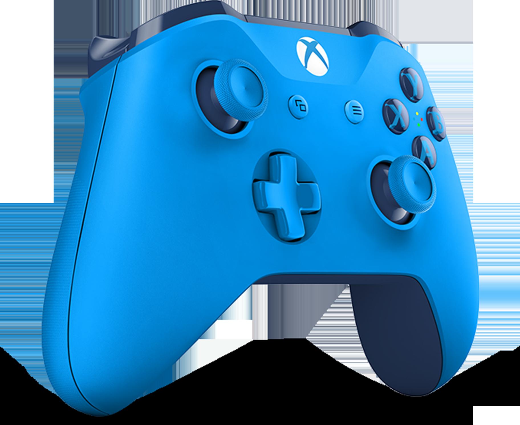 Manette sans fil Xbox — Bleue