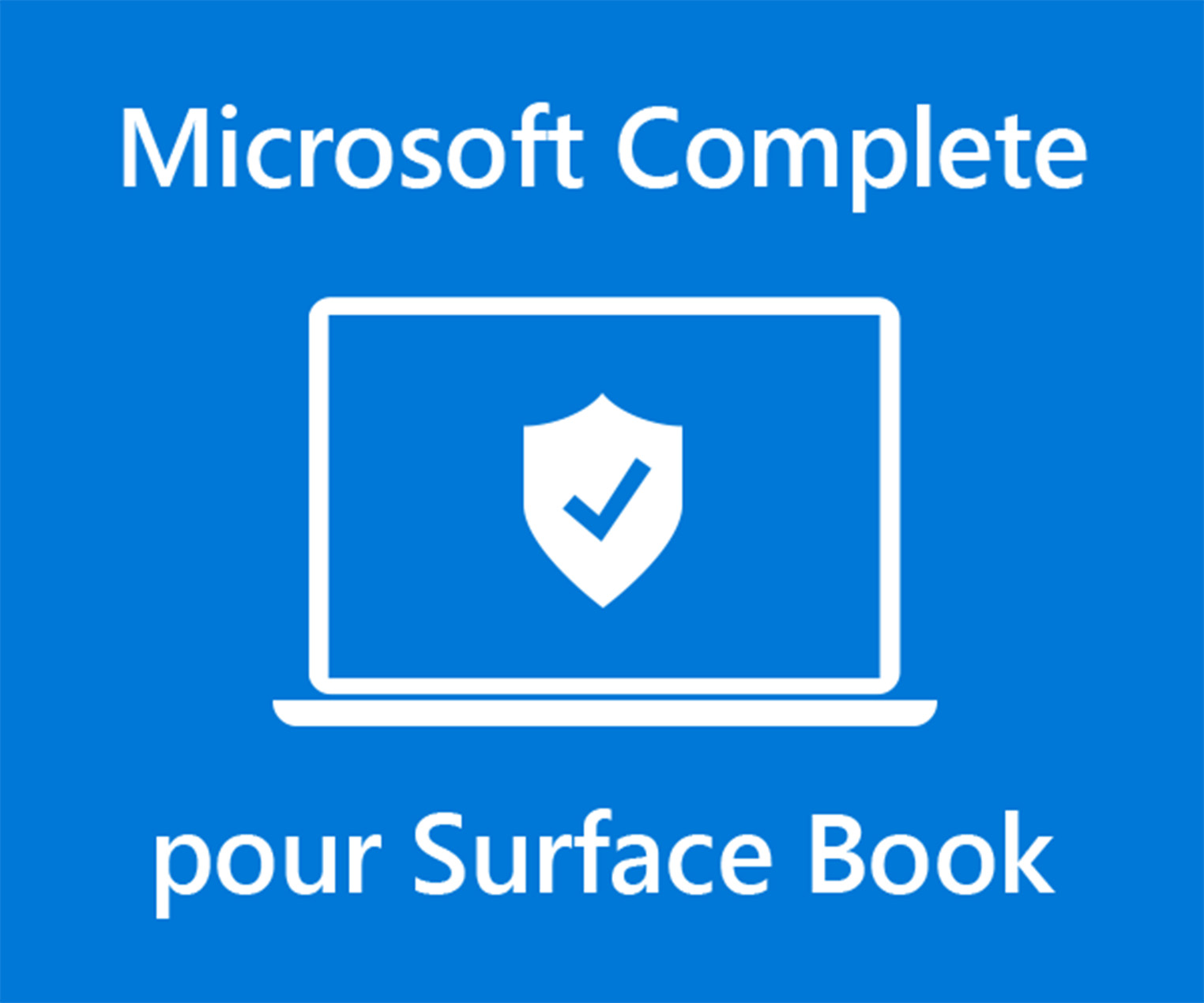 Microsoft Complete pour Surface Book