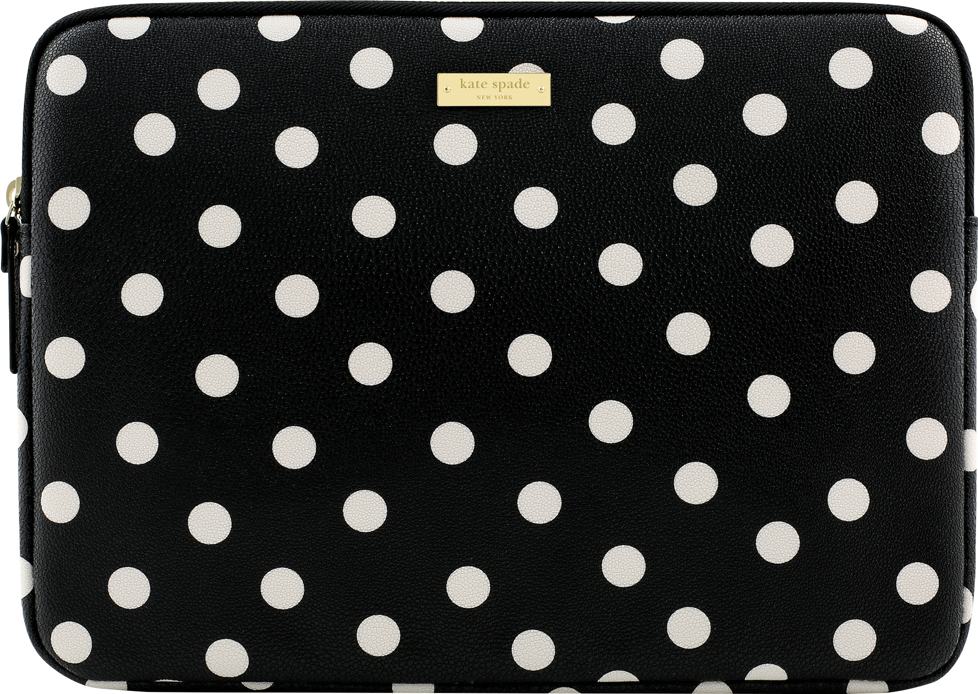 Kate Spade Printed Sleeve for Surface Pro (Black Deco Dot/Cream)