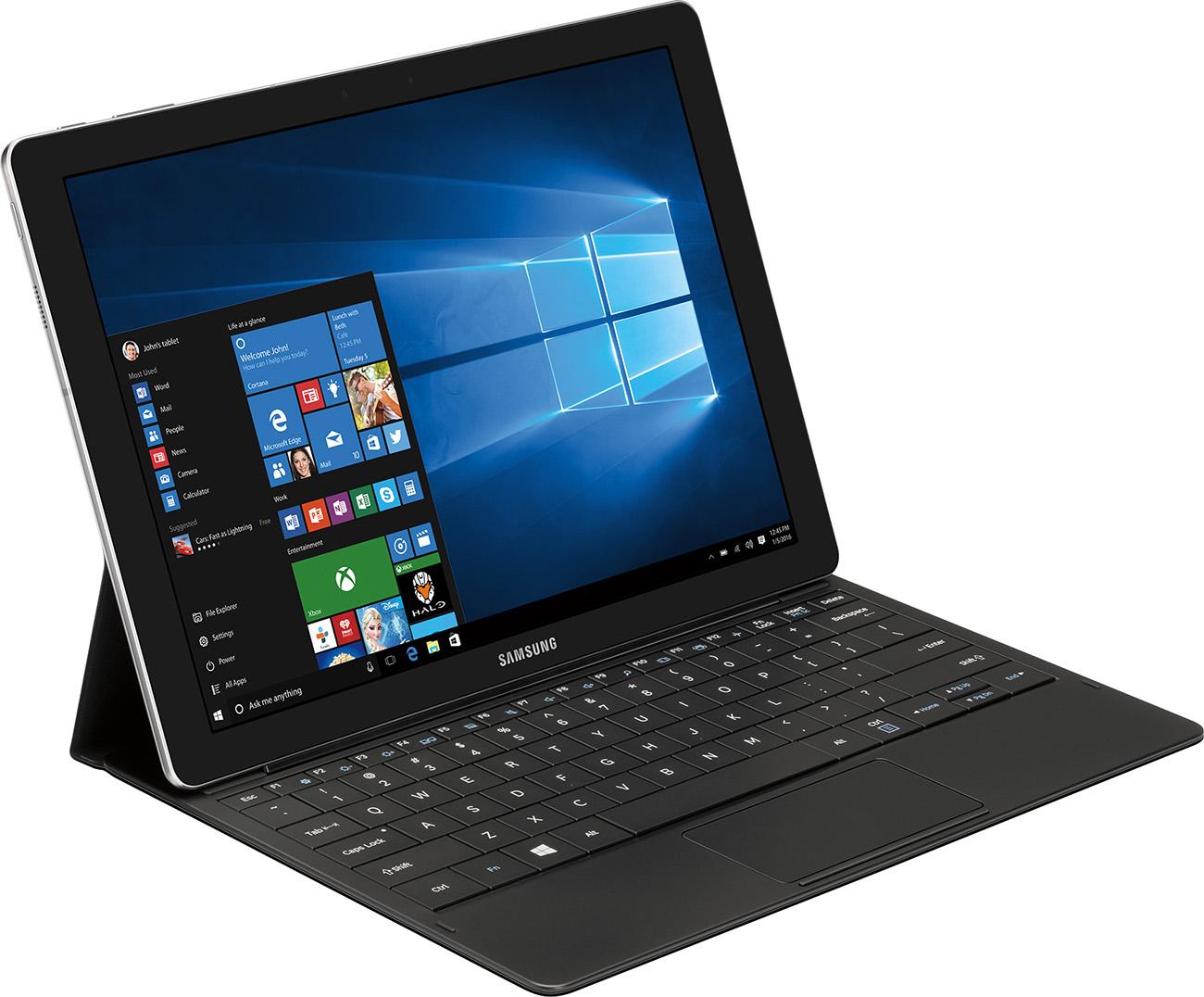 Samsung Galaxy TabPro S & Keyboard Tablet