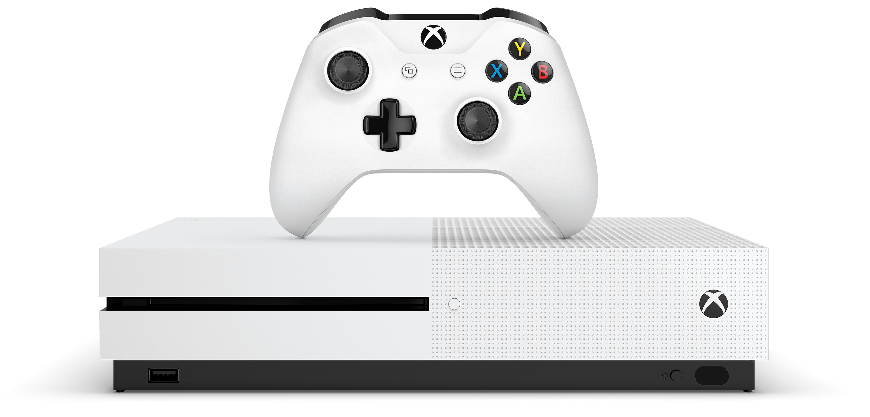 Console Xbox One S (500 Go ou 1 To)