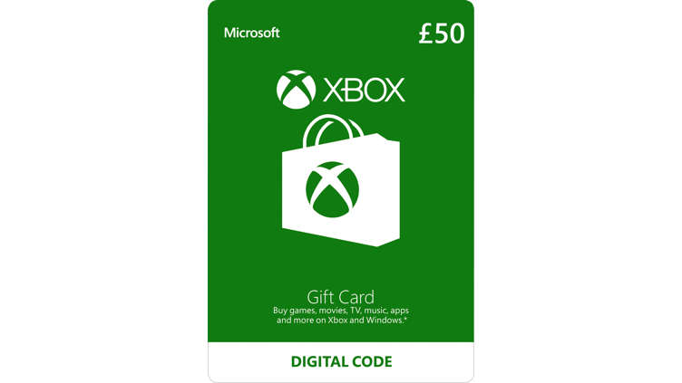 Image result for Microsoft Gift Card £50