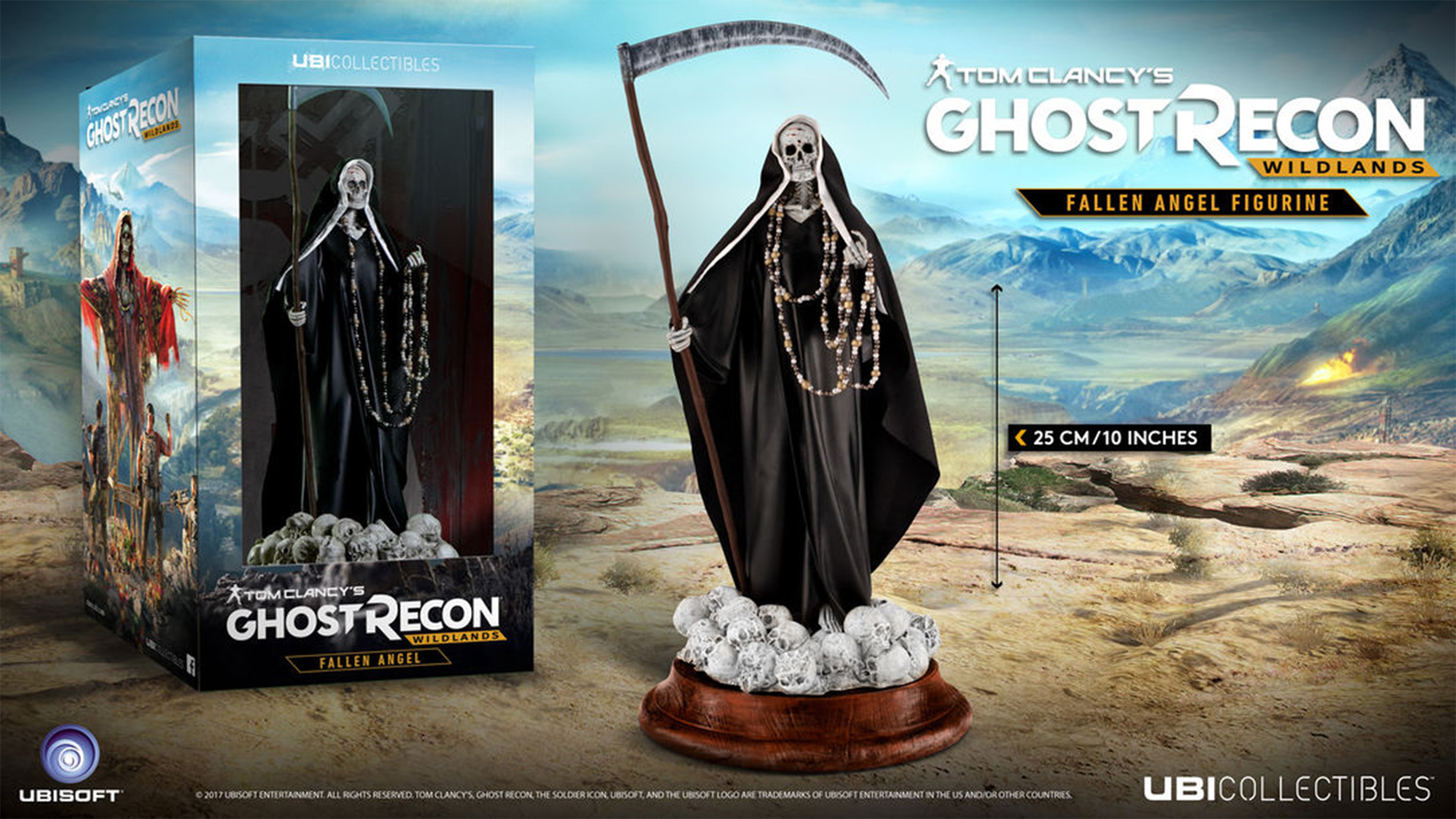 Tom Clancy's Ghost Recon Wildlands Fallen Angel Figurine