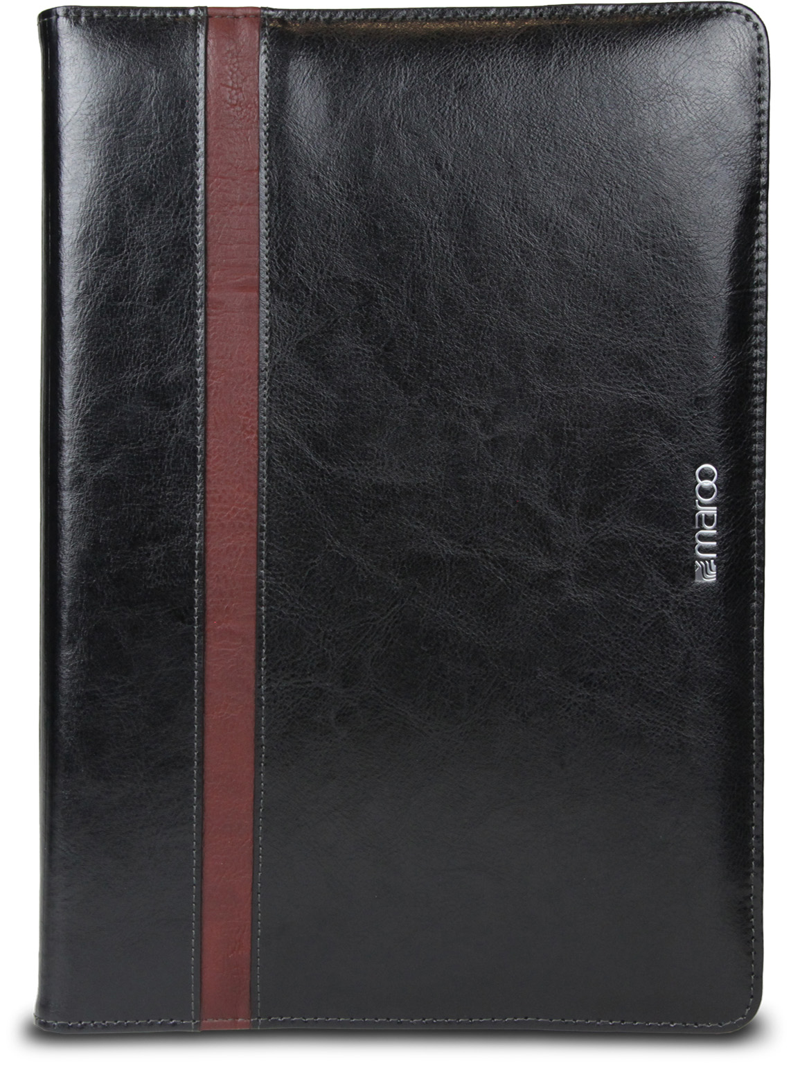 Maroo Executive Leather Folio voor Surface Pro (Obsidian zwart)