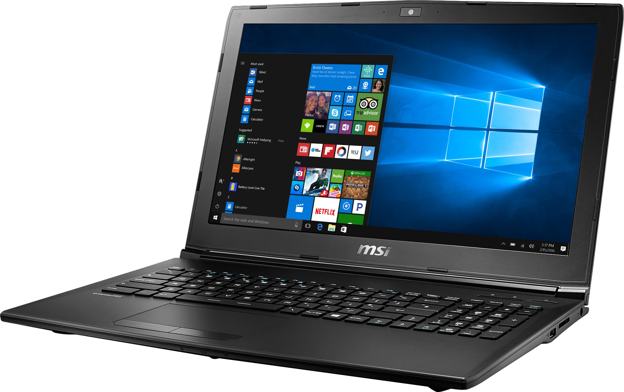 MSI GL62M 7RD Gaming Laptop