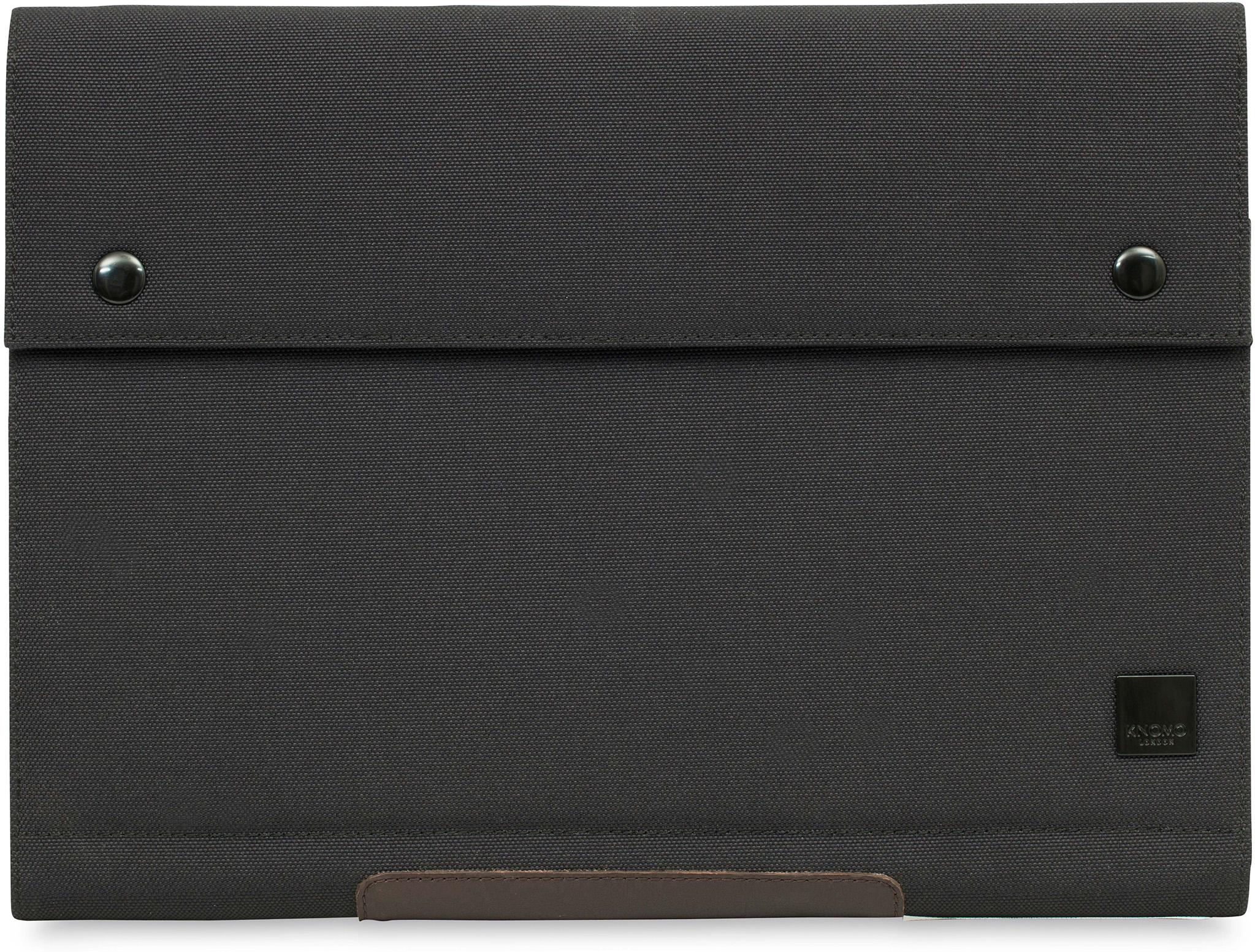 Porte-documents Knomad de Knomo de 12pouces pour ordinateur portable (anthracite)