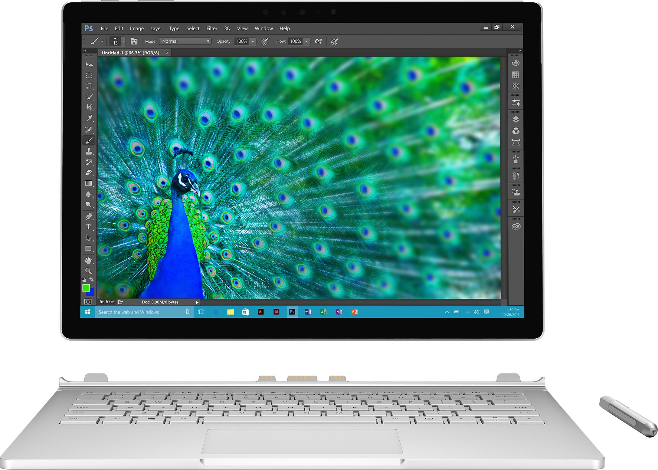 Microsoft Surface Book für Geschäftskunden – i7 512GB / 16GB RAM / dGPU