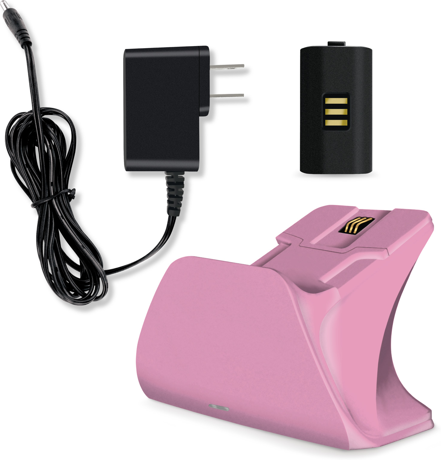 RW57wj?ver=1138 - Controller Gear Xbox Design Lab Pro Charging Stand (Retro Pink)