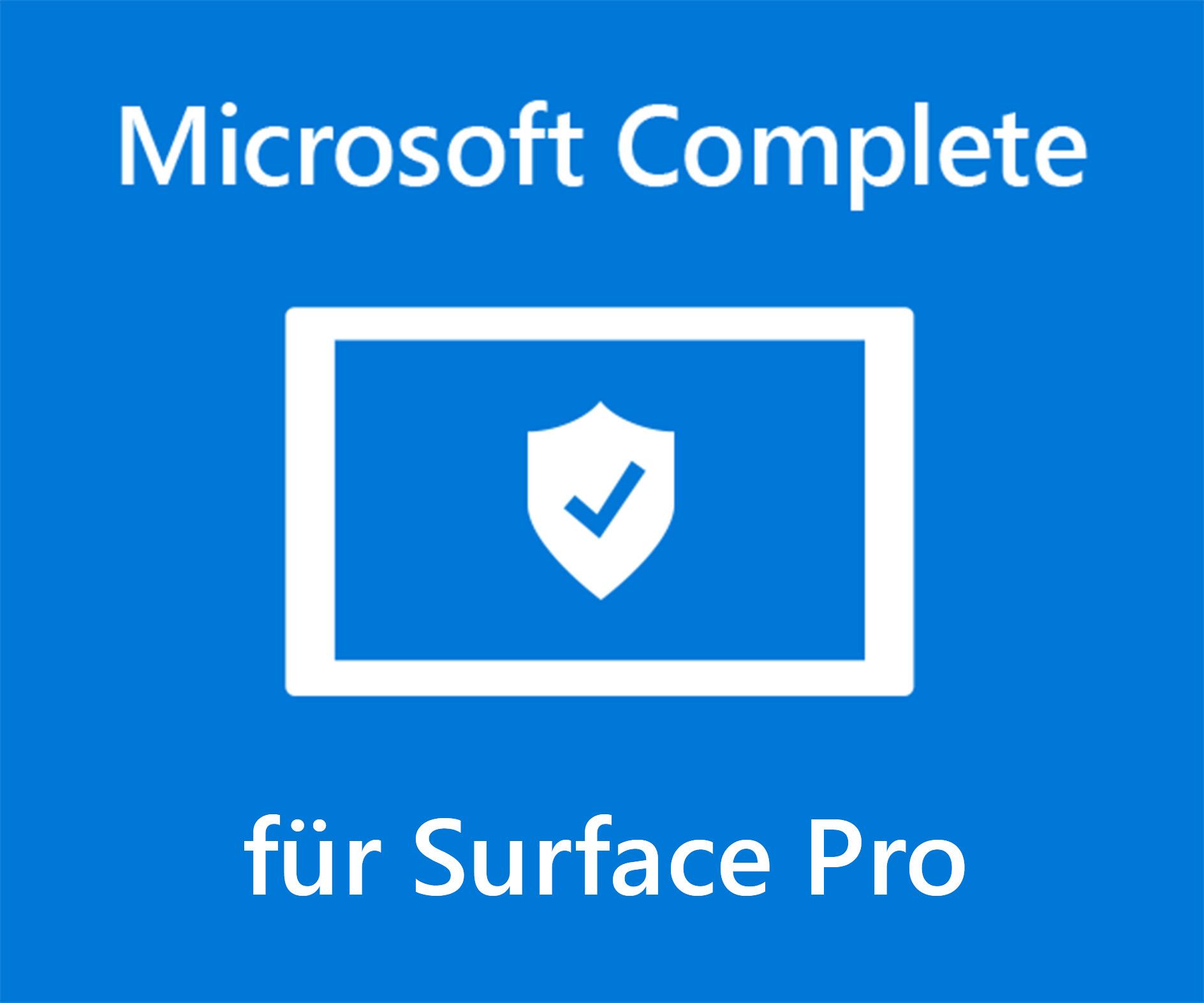 Microsoft Complete für Surface Pro