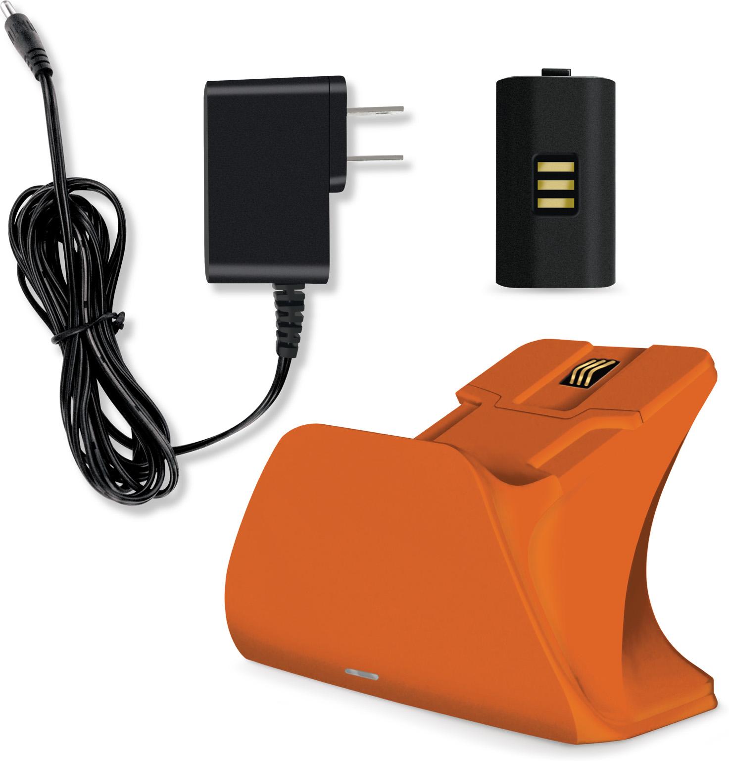 RW5frG?ver=c2d1 - Controller Gear Xbox Design Lab Pro Charging Stand (Zest Orange)
