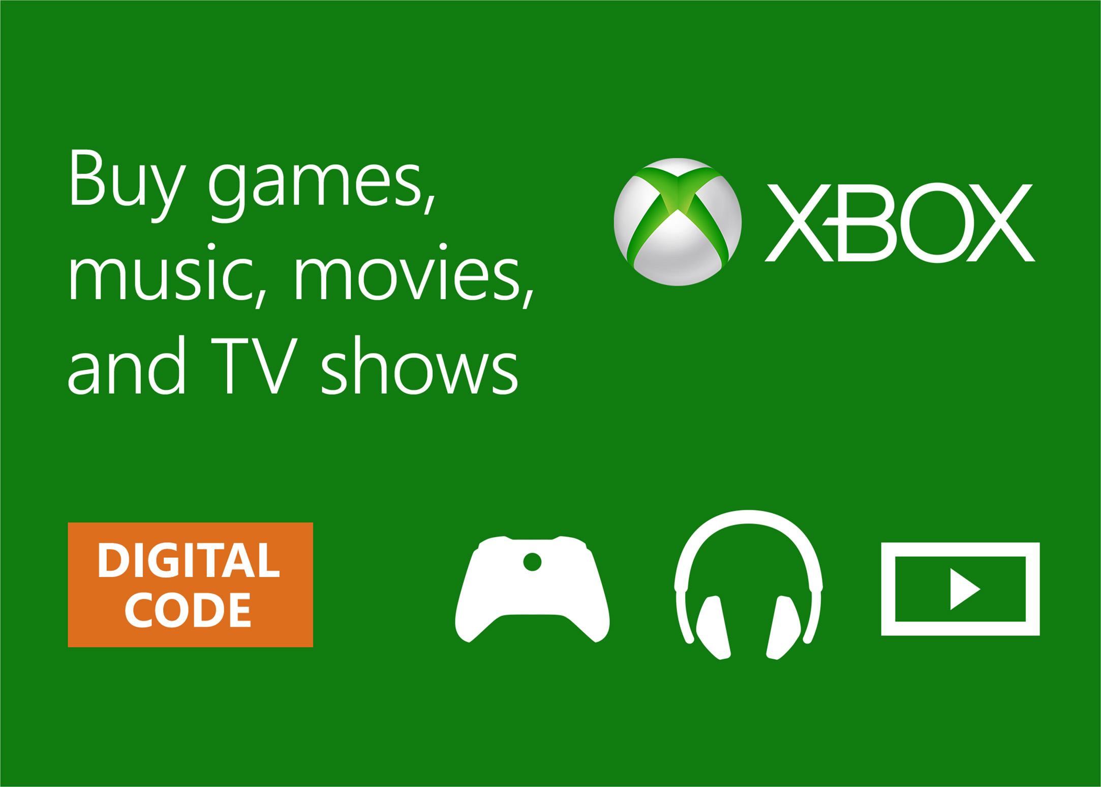 Buy Xbox Digital Gift Card  Microsoft Store