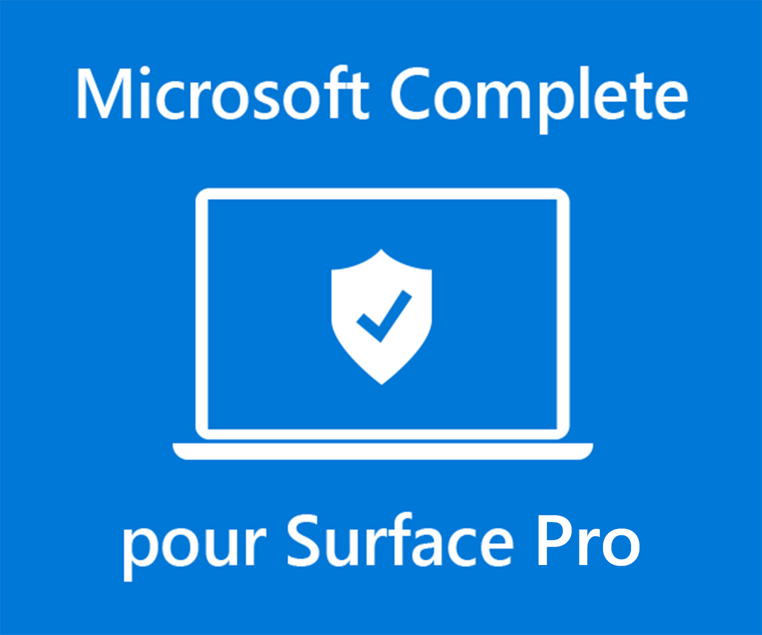 Microsoft Complete for Business Extended Service Plan for Surface Pro (4-year)