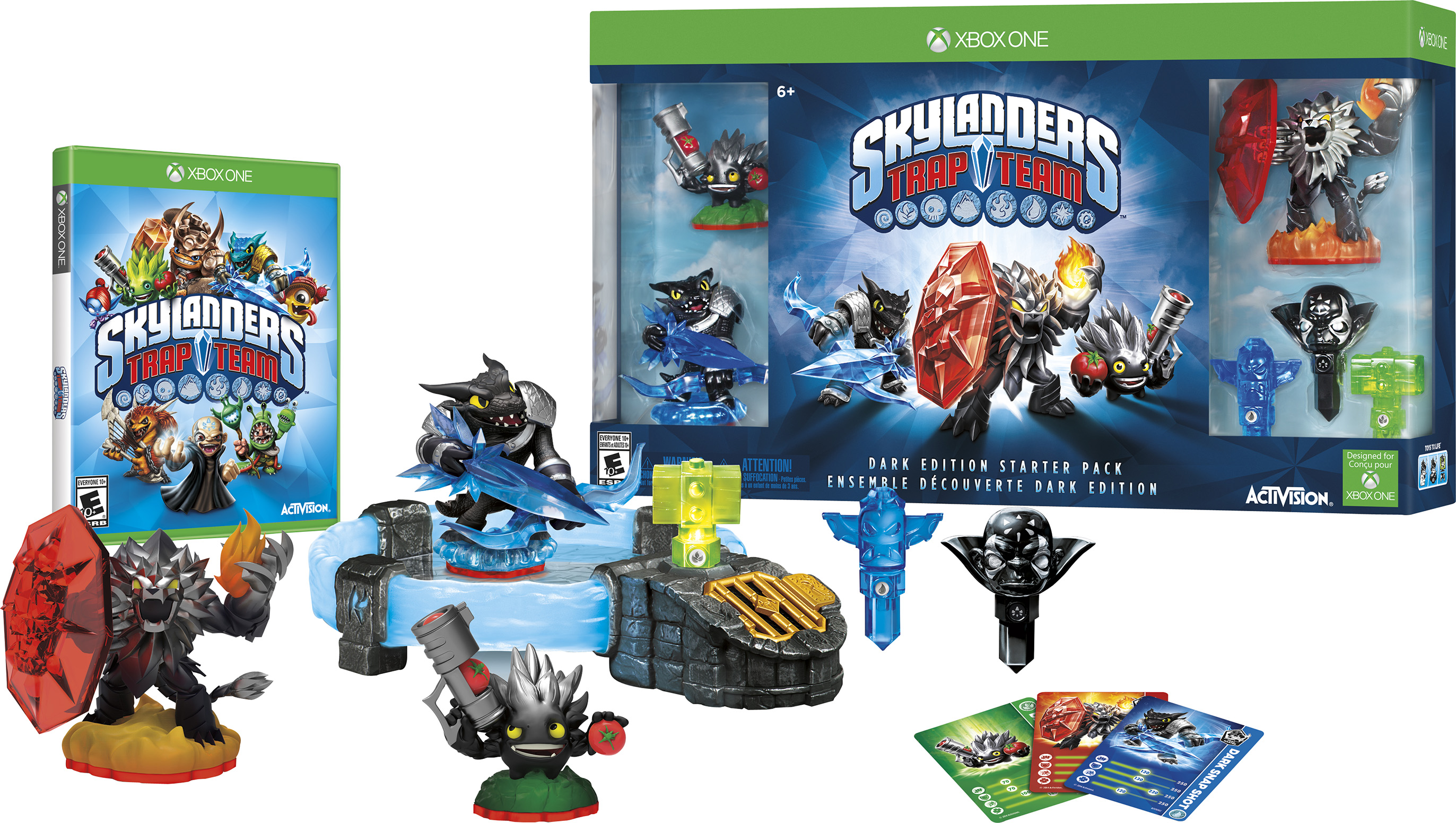 Skylanders Trap Team Dark Edition Starter Pack for Xbox One FKF-01129