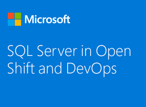 "Miniaturbild zum Webinar ""SQL Server in Open Shift und DevOps"""