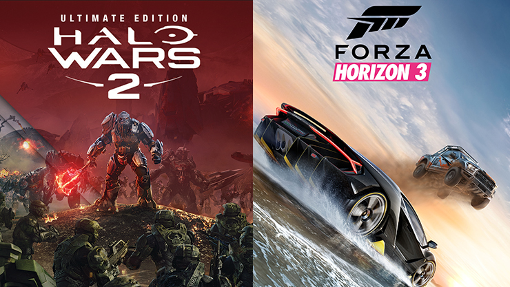 Halo Wars 2 & Forza Horizon 3