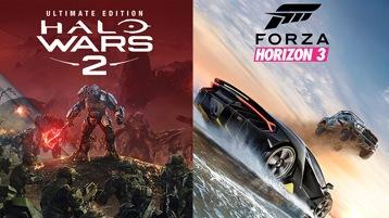 Halo Wars 2 & Forza Horizon 3