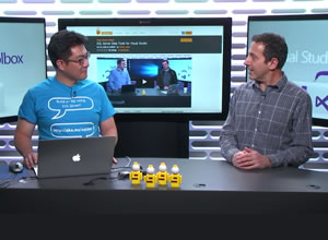 SQL Server Extension for Visual Studio Code, gepresenteerd door Robert Green en Eric Kang