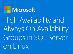 High Availability and Always On Availability Groups in SQL Server on Linux webinar thumbnail