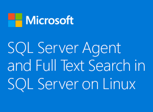 SQL Server Agent and Full Text Search in SQL Server on Linux webinar thumbnail image