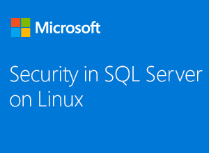 Security in SQL Server on Linux webinar thumbnail image