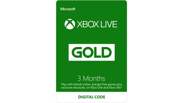 Buy xbox live gold membership digital code microsoft store 3 month xbox live gold membership digital code reheart Images
