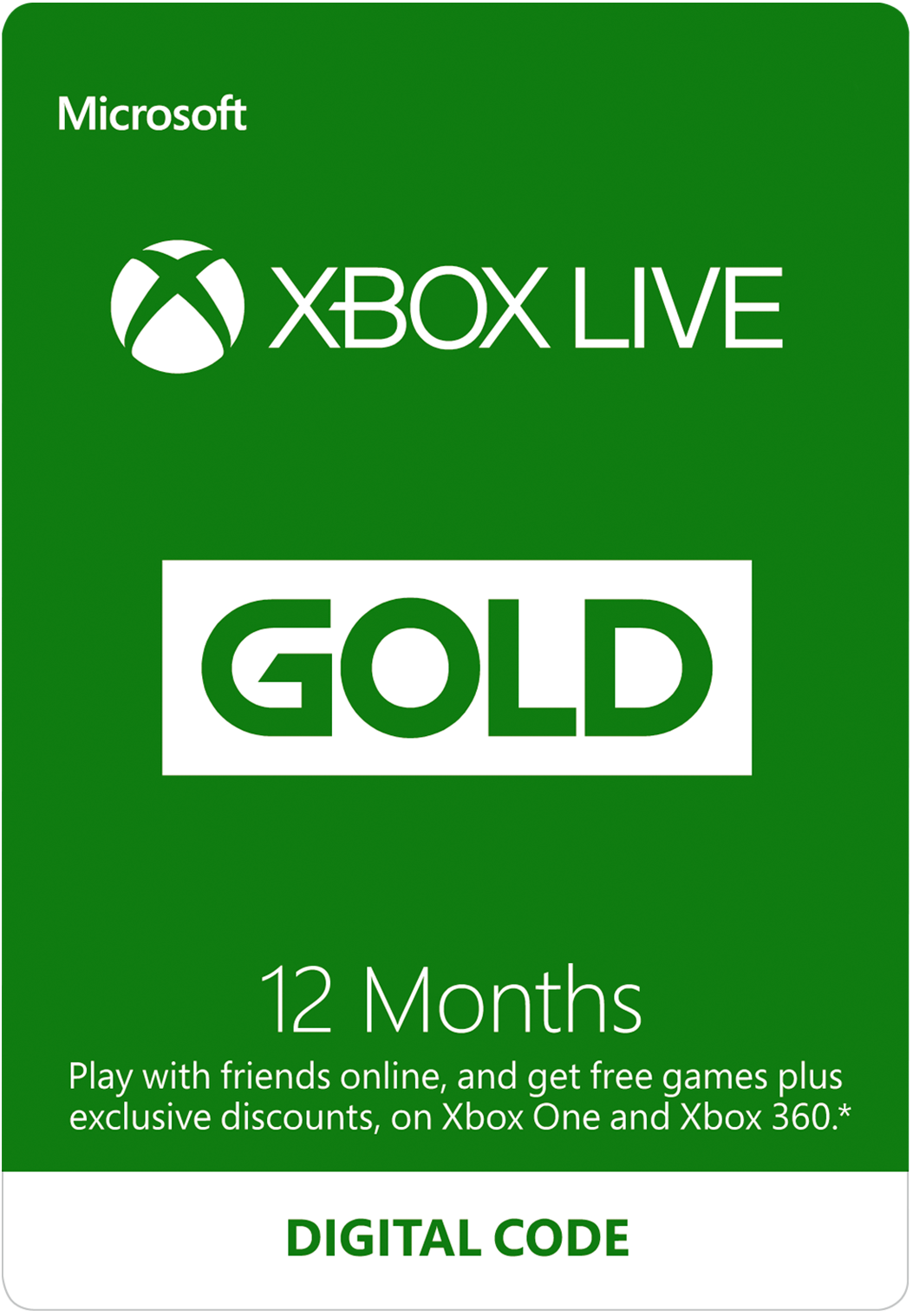 Image result for xbox live gold 12 months