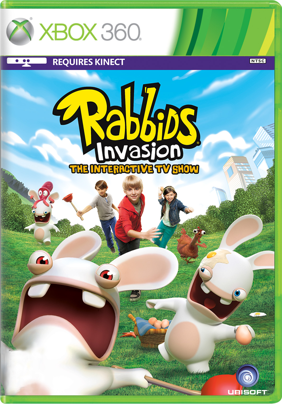 Rabbids Invasion: The Interactive TV Show for Xbox 360