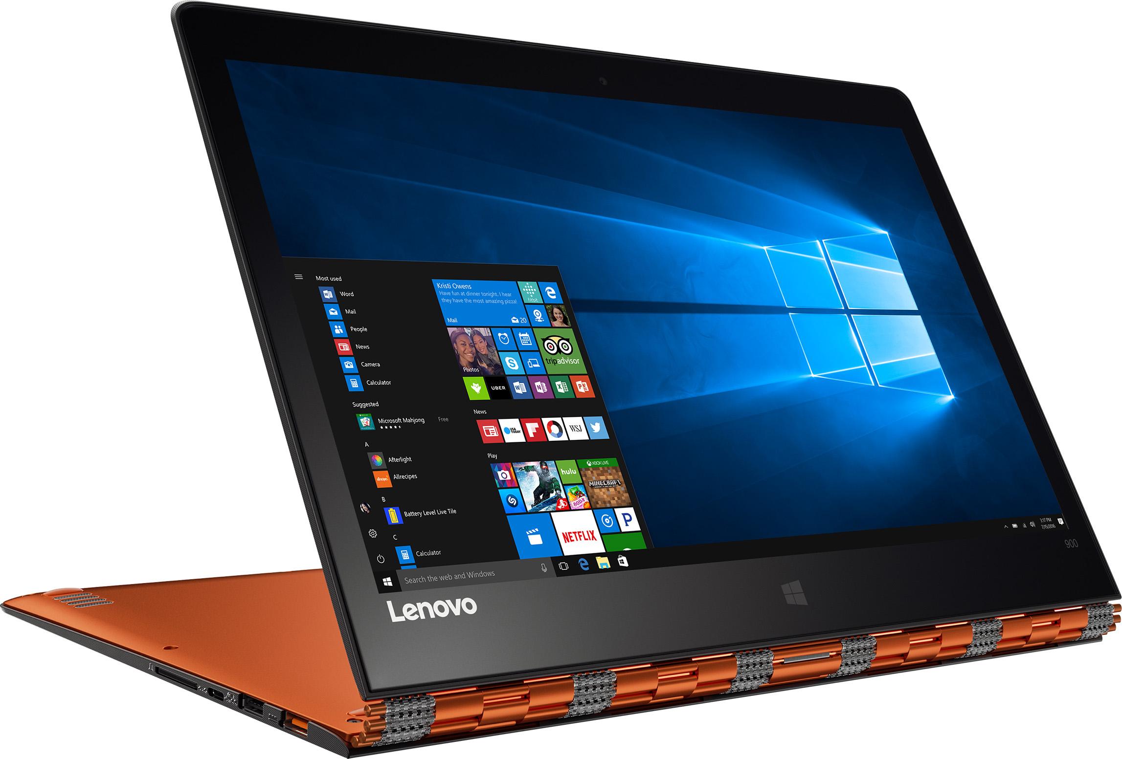 Lenovo Yoga 900-13ISK2 80UE Signature Edition 2 in 1 PC, 512GB (Orange)