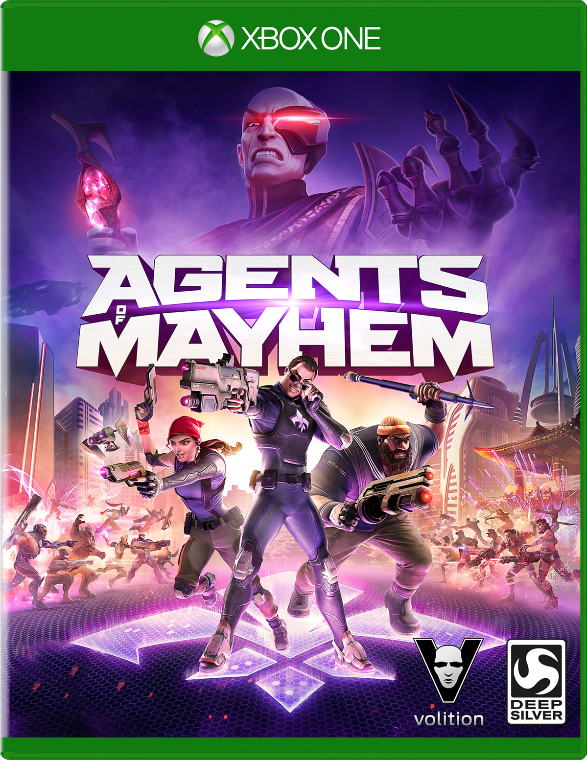 Agents of Mayhem for Xbox One Deal