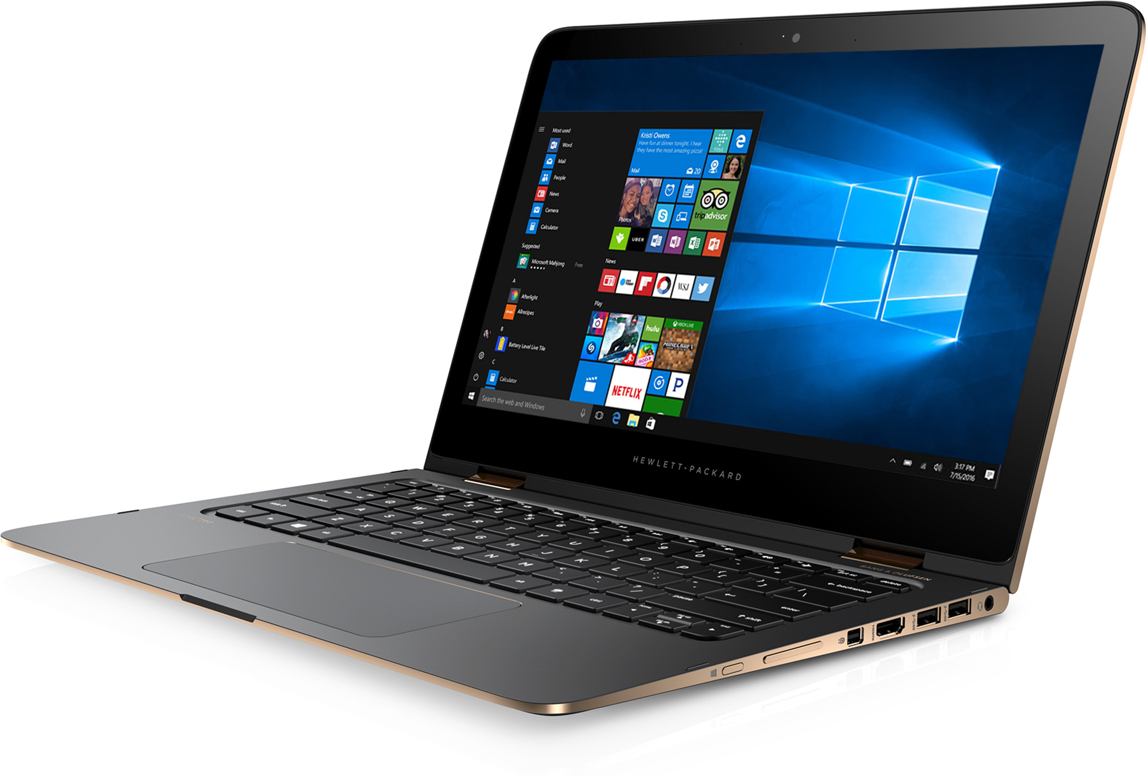 HP Spectre x360 Convertible 13-4197ms Signature Edition 2 in 1 PC