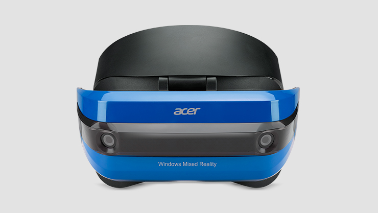 Front facing Acer Mixed Reality Headset Development Edition