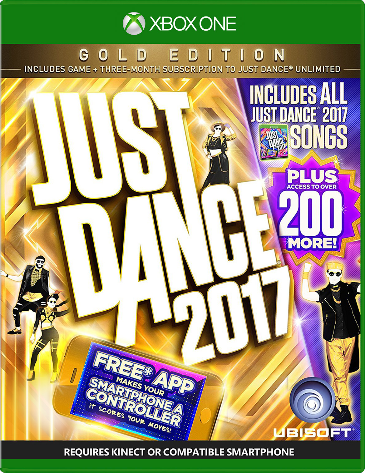 Just Dance 2017 GOLD Edition for Xbox One Deal