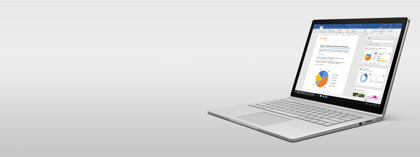Word sur Surface Book.