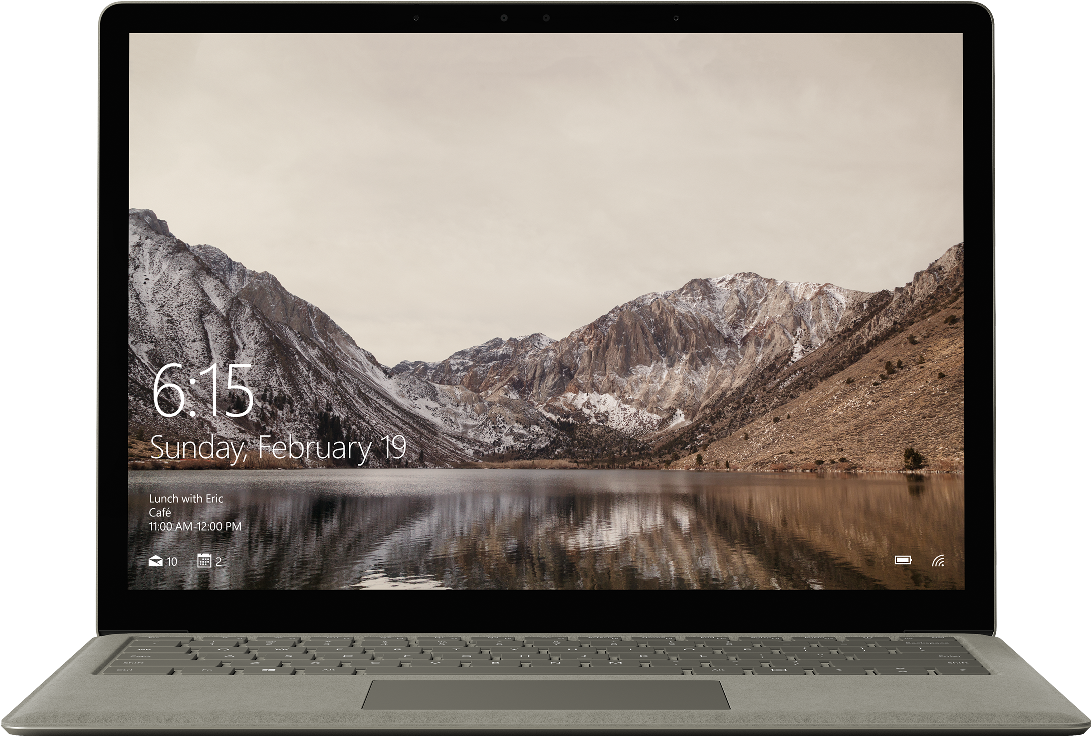 Surface Laptop - 256 GB / Intel Core i5 / 8 GB RAM (grijsgoud)