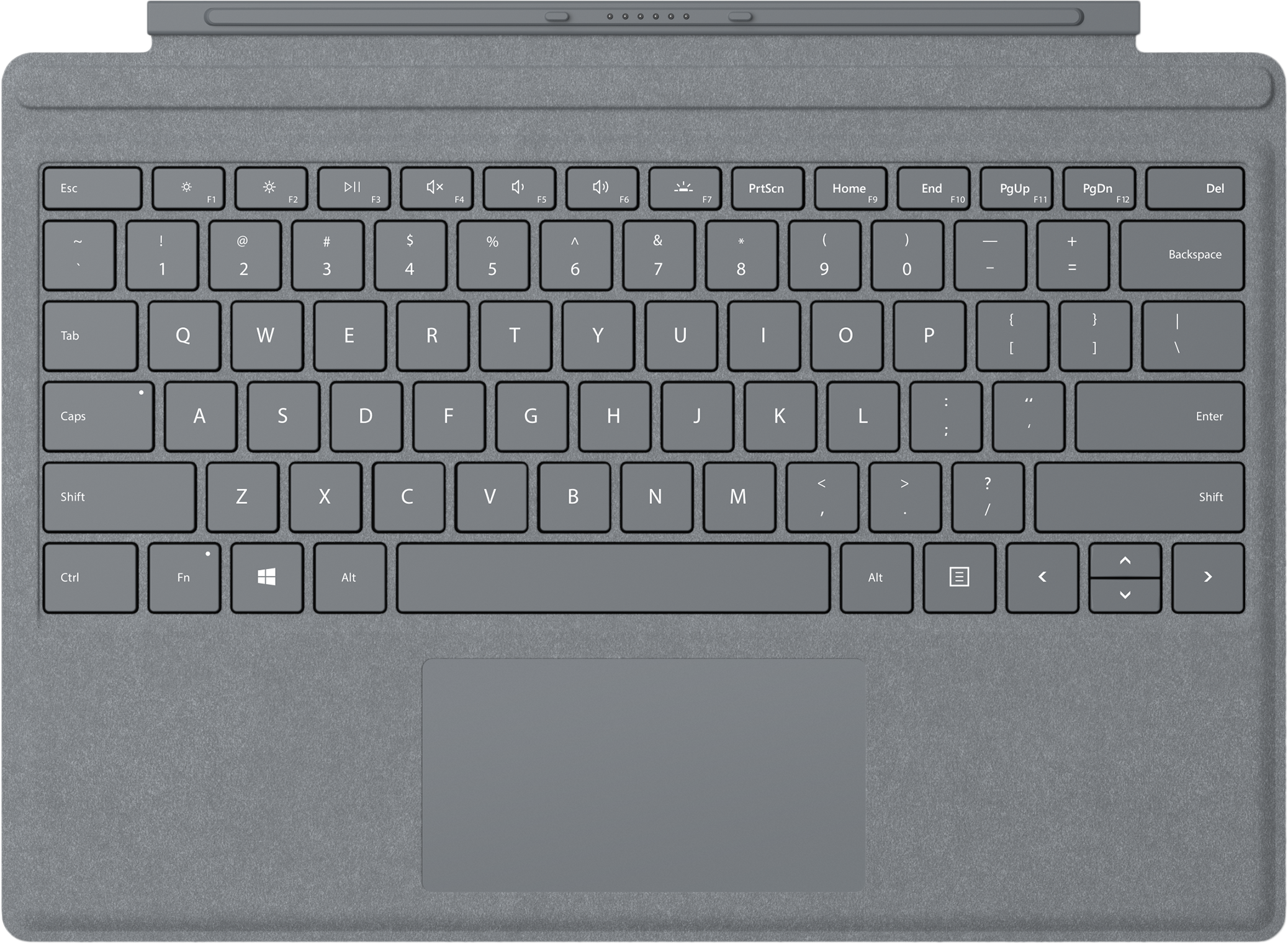 Signature Type CoverSurface Pro Commercial – Platine