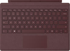 Surface Pro Signature Type Cover for Business - Burgundy