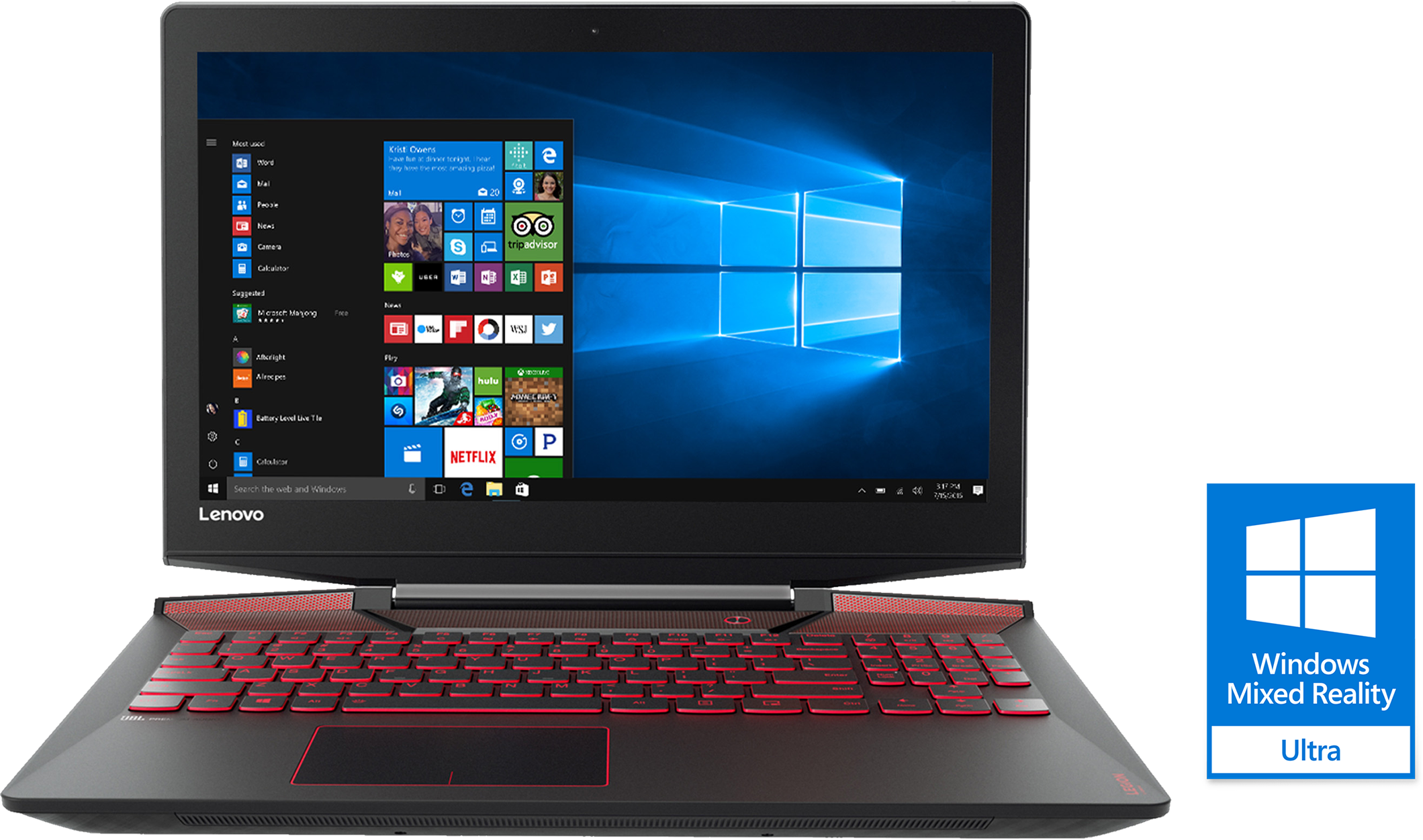 Lenovo Legion Y720 80VR0064US Gaming Laptop
