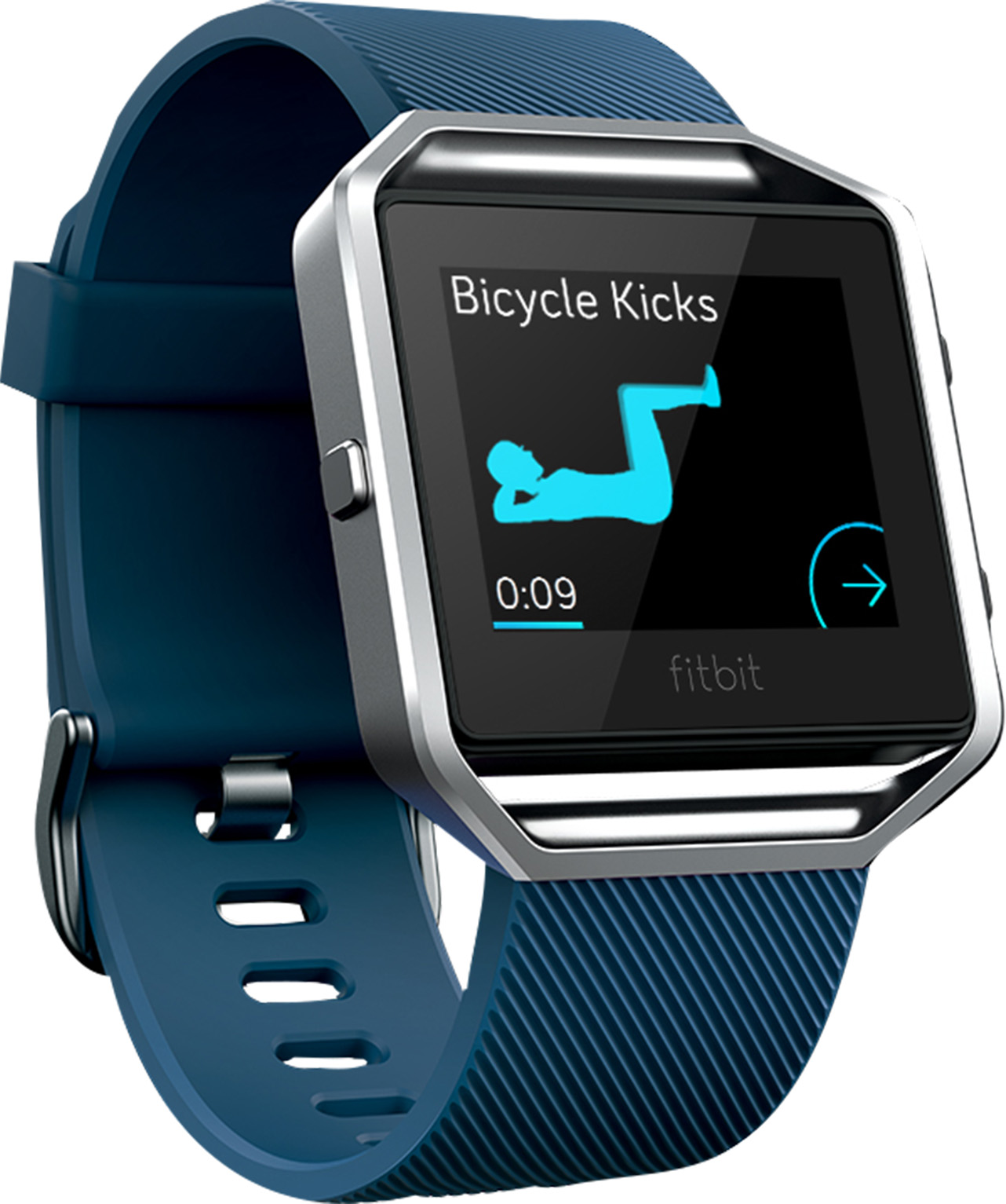 Fitbit Blaze Classic Band (Blue) - Large