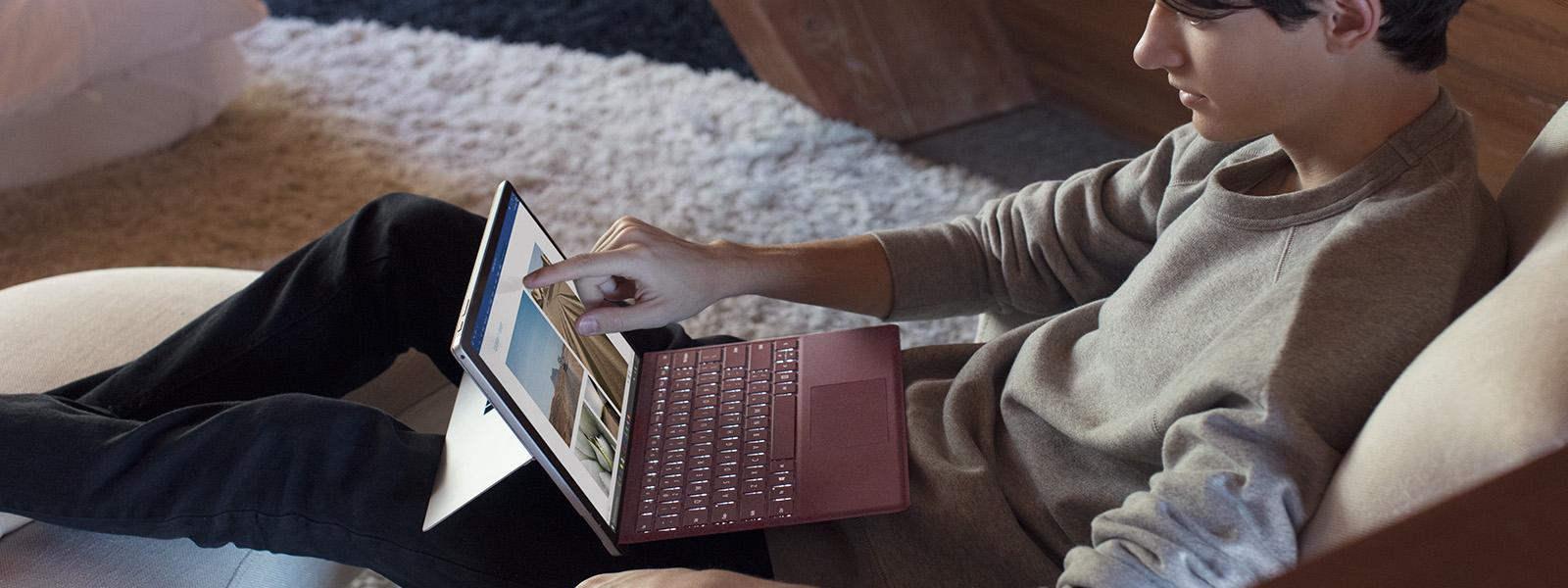 Surface Pro Firma Tipo de cubierta