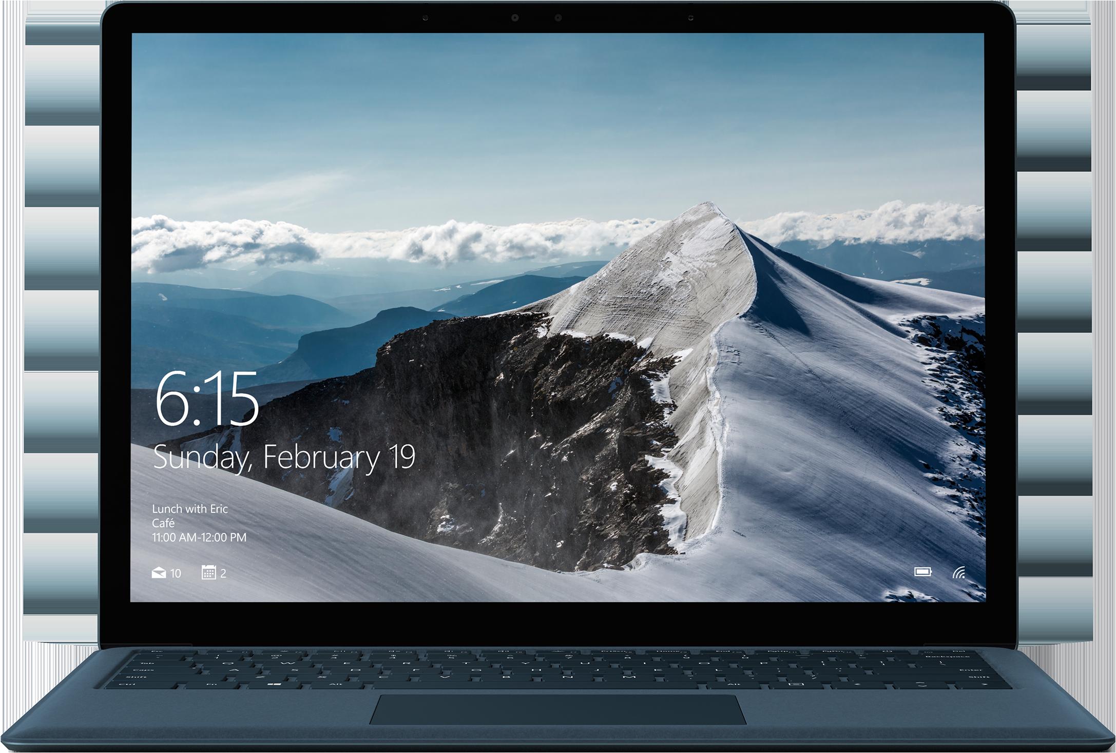 Surface Laptop - 256 GB / Intel Core i5 / 8GB RAM - Kobaltblauw