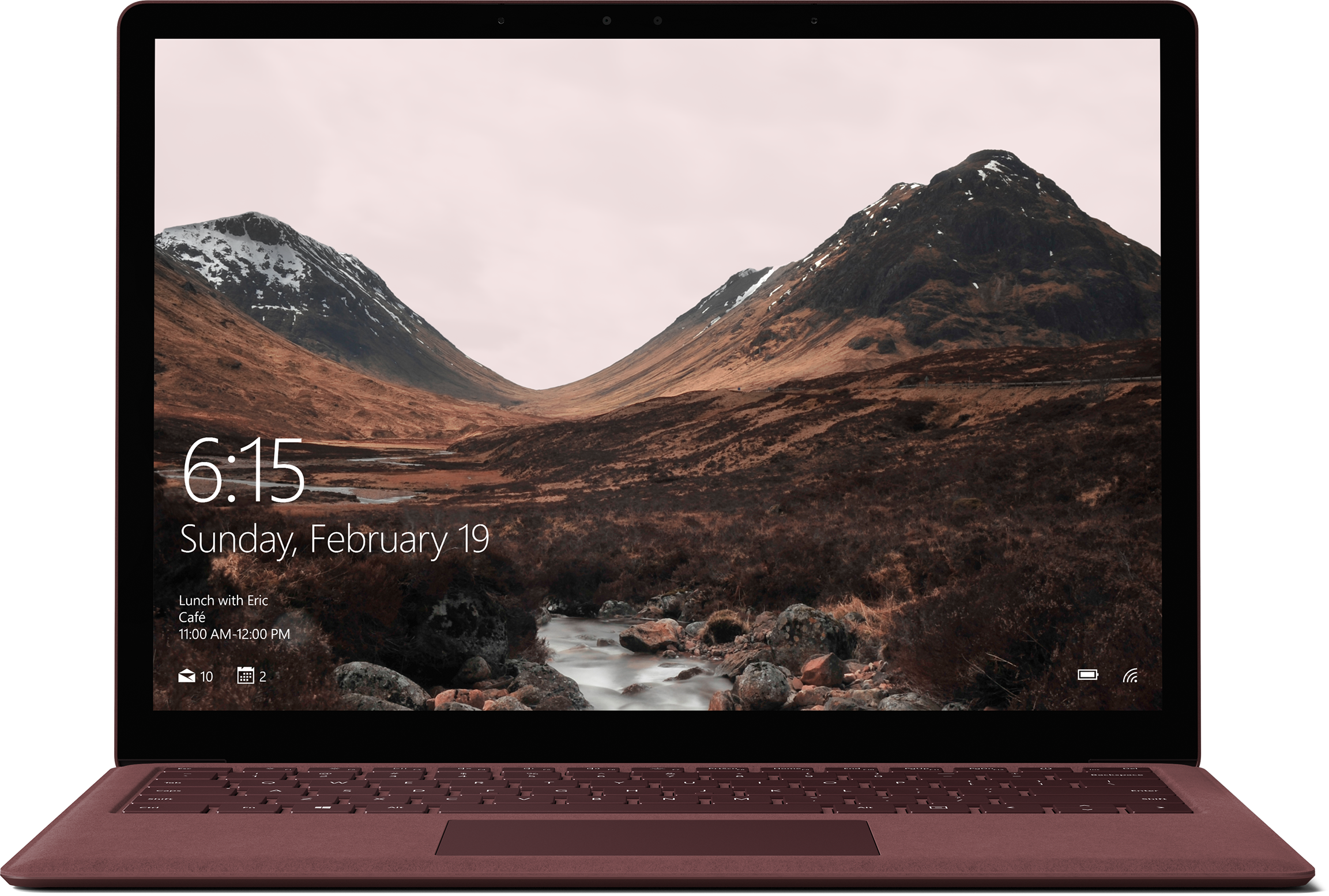 Surface Laptop - 256 GB / Intel Core i7 / 8 GB RAM (Bordeauxrood)