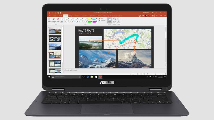 ASUS ZenBook Flip with Office